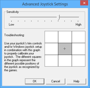 In-game advanced joystick settings (for Joust 2).