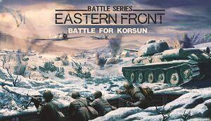 Battle for Korsun cover