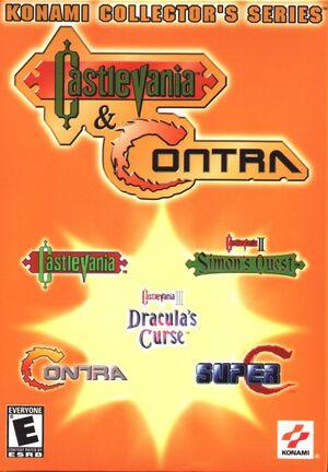 Konami Collector's Series:Castlevania & Contra cover