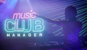 Music Club Manager cover