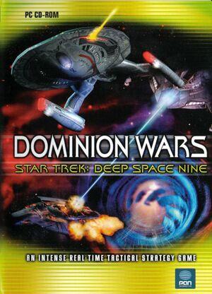 Star Trek: Deep Space Nine - Dominion Wars cover