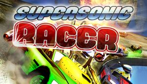 Super Sonic Racer cover