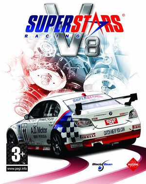 Superstars V8 Racing cover