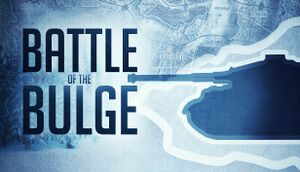 Battle of the Bulge cover