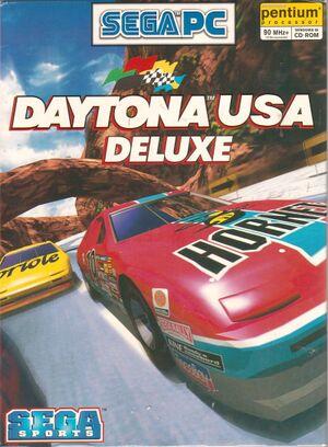 Daytona USA: Deluxe cover