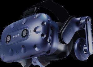 HTC Vive Pro and Vive Pro Eye headset.