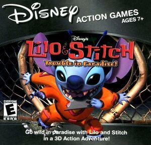 Lilo & Stitch: Trouble in Paradise cover