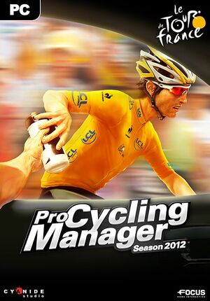 Pro Cycling Manager 2012 cover