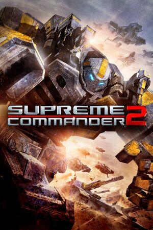 Supreme Commander 2 cover