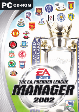 The F.A. Premier League Manager 2002 cover