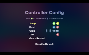 In-game controller remapping.