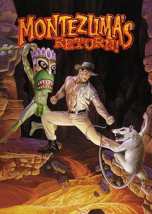 Montezuma's Return! cover
