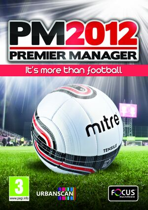 Premier Manager 2012 cover