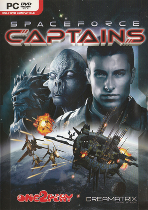Spaceforce: Captains cover