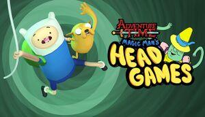 Adventure Time: Magic Man's Head Games cover