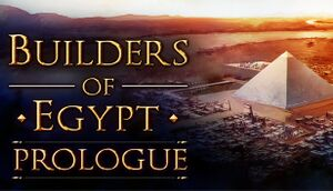 Builders of Egypt: Prologue cover