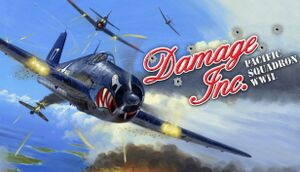 Damage Inc. Pacific Squadron WWII cover