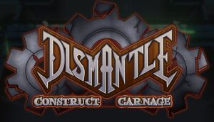 Dismantle: Construct Carnage cover