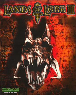 Lands of Lore III cover