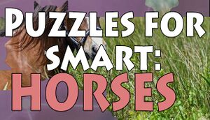 Puzzles for smart: Horses cover