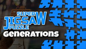 Super Jigsaw Puzzle: Generations cover