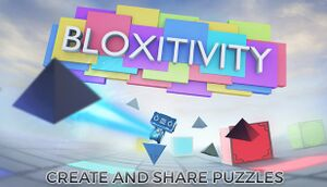 Bloxitivity cover