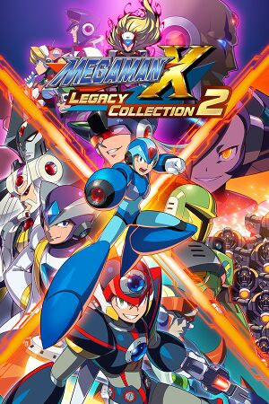 Mega Man X Legacy Collection 2 cover