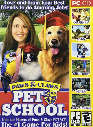 Paws & Claws: Pet School cover