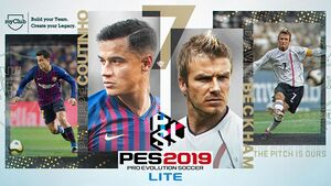 Pro Evolution Soccer 2019 Lite cover