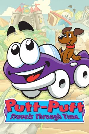 Putt-Putt Travels Through Time cover