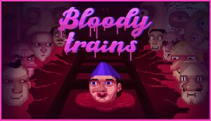 Bloody trains cover