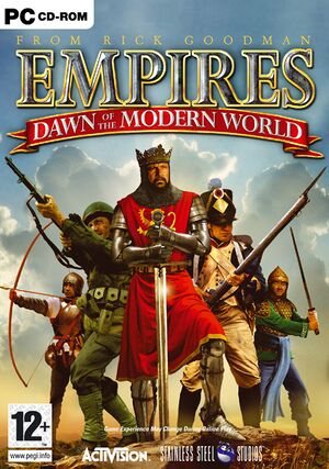 Empires: Dawn of the Modern World cover
