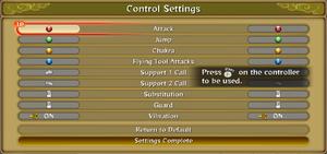 In game control rebinding.