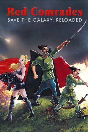Red Comrades Save the Galaxy cover