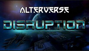 AlterVerse: Disruption cover