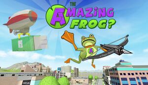 Amazing Frog? cover