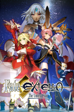 Fate/Extella: The Umbral Star cover