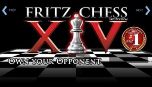 Fritz Chess 14 cover