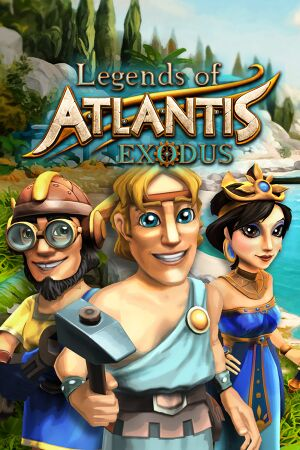 Legends of Atlantis: Exodus cover