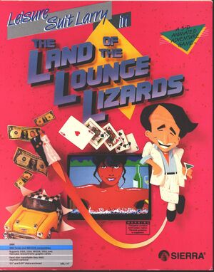 Leisure Suit Larry in the Land of the Lounge Lizards cover