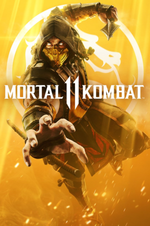 Mortal Kombat 11 cover