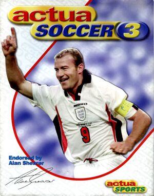 Actua Soccer 3 cover