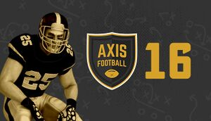Axis Football 2016 cover