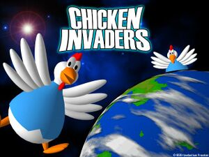 Chicken Invaders cover
