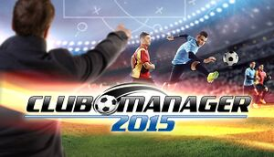 Club Manager 2015 cover