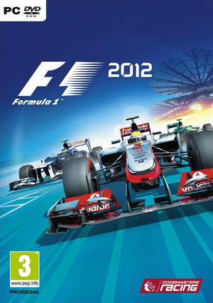F1 2012 cover