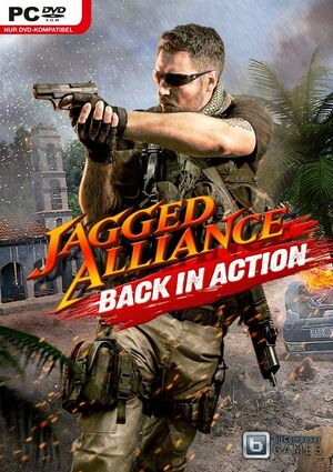 Jagged Alliance: Back in Action cover