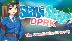 Stay! Stay! Democratic People's Republic of Korea! cover