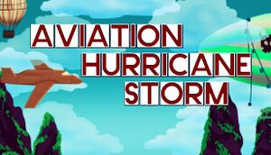 Aviation Hurricane Storm cover