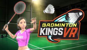 Badminton Kings VR cover